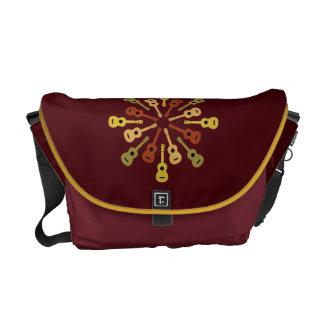 Ukulele custom messenger bag