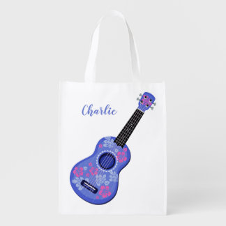 Ukulele custom name reusable bag