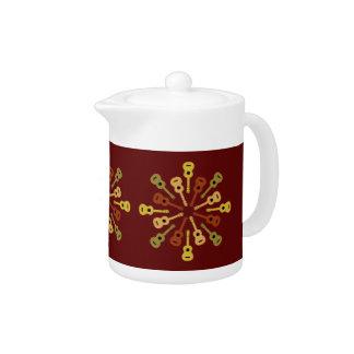 Ukulele custom teapot