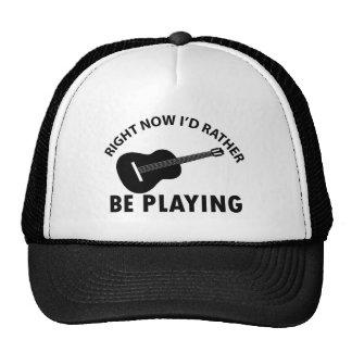 ukulele design cap
