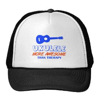 Ukulele design hats