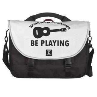 ukulele design laptop bag