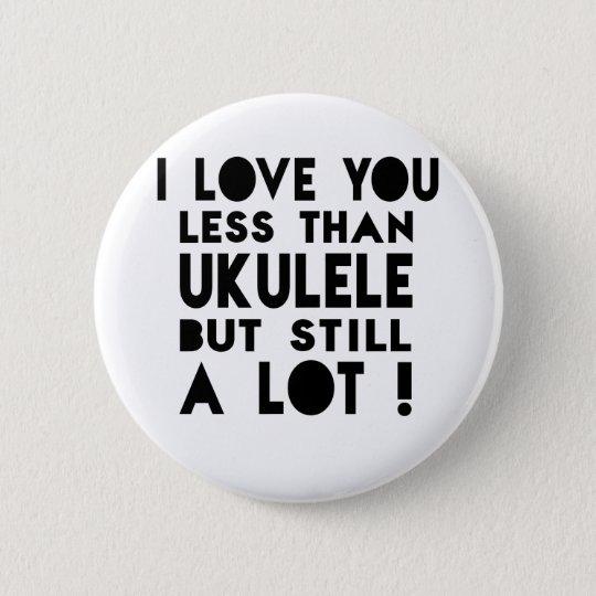 Ukulele Designs 6 Cm Round Badge