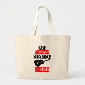 UKULELE designs Tote Bags