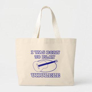 Ukulele Designs Canvas Bags