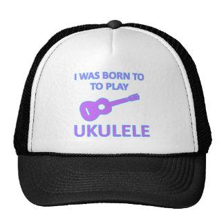 Ukulele Designs Cap