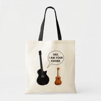 ukulele gift ideas budget tote bag