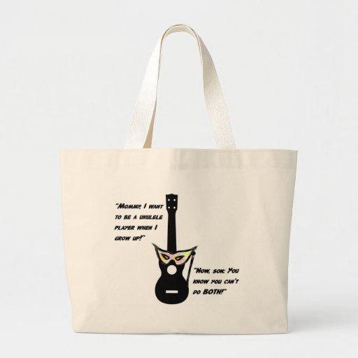 Ukulele Grown Up Humor Tote Bag