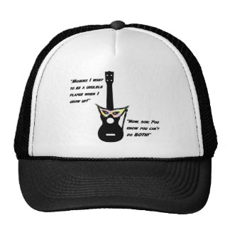 Ukulele Grown Up Humor Trucker Hat