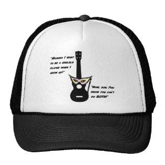 Ukulele Grown Up Humor Mesh Hat