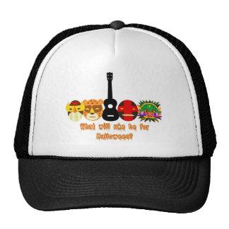 Ukulele Halloween Mesh Hat