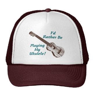 Ukulele Trucker Hats