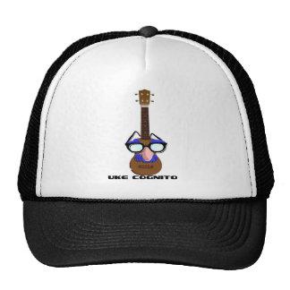 Ukulele Incognito Mesh Hats