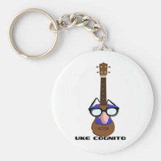 Ukulele Incognito Key Ring