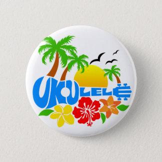 Ukulele Island Logo 6 Cm Round Badge