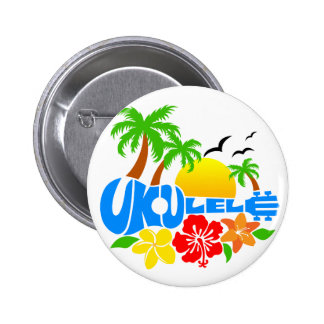 Ukulele Island Logo Buttons