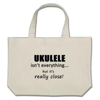 Ukulele Isn't Everything Tote Bags
