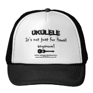 Ukulele It s not just for Hawaii anymore Mesh Hat