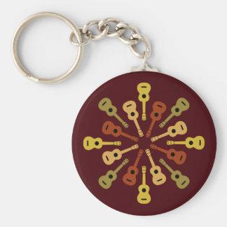 Ukulele key chain - choose style