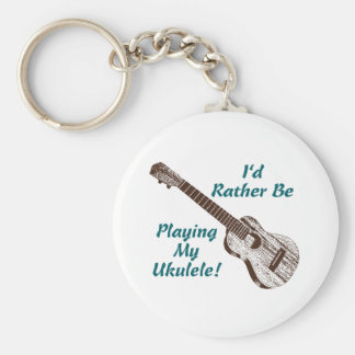 Ukulele Key Ring