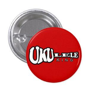 Ukulele King Small Button