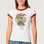 Ukulele Lady #1 Ladies Ringer T-Shirt