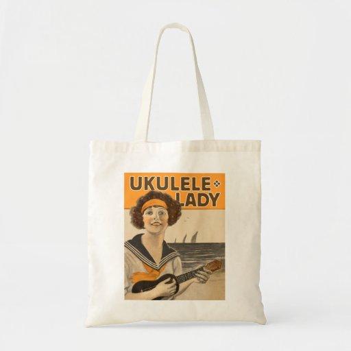 Ukulele Lady #2 Tote Bag