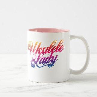 Ukulele Lady Mug