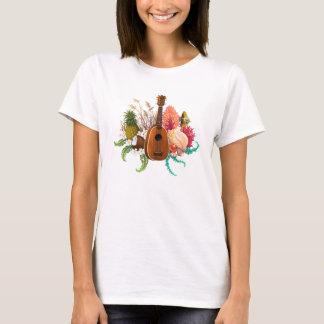 Ukulele Land & Sea Pineapple T-Shirt