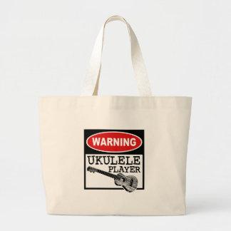 Ukulele Large Tote Bag