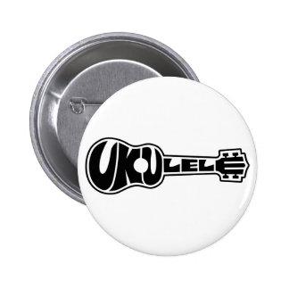 Ukulele Logo Pin