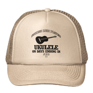 ukulele Musical designs Mesh Hat
