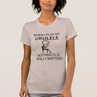 Ukulele Nothing Else Matters T-Shirt