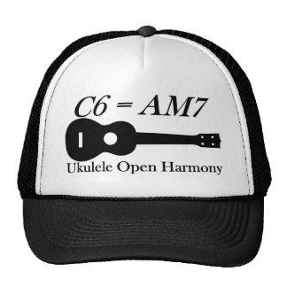 Ukulele Open Chords Hats