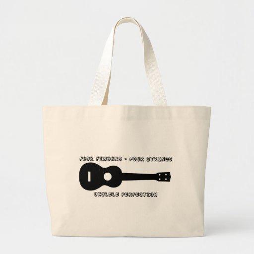 Ukulele Perfection Tote Bags