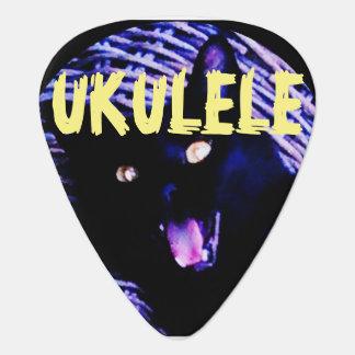 UKULELE PIC-Black Cat EDL040716001 Plectrum