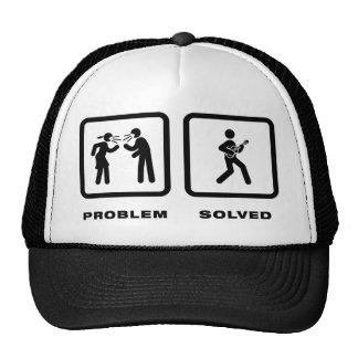 Ukulele Player Hat