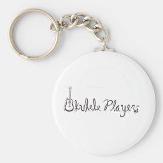 Ukulele Players Key Ring