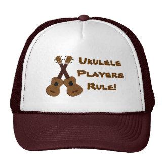 Ukulele Players Rule Hat