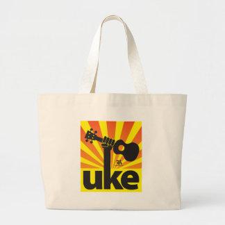 Ukulele Power Jumbo Tote Bag