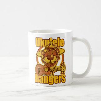 Ukulele Rangers Bear Logo Basic White Mug