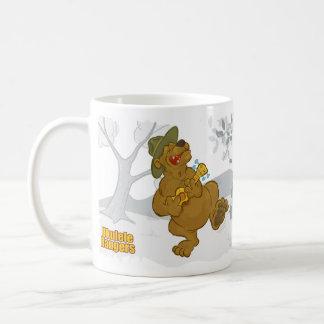Ukulele Rangers 'Do Bears Sing in the Woods?' Smal Basic White Mug