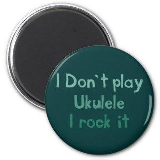 Ukulele Rock It Magnet