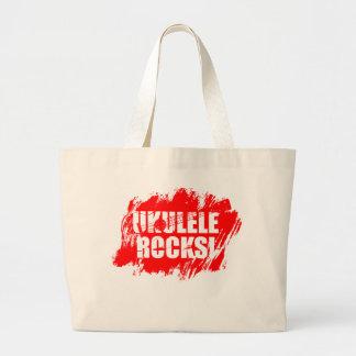Ukulele Rocks! Canvas Bags