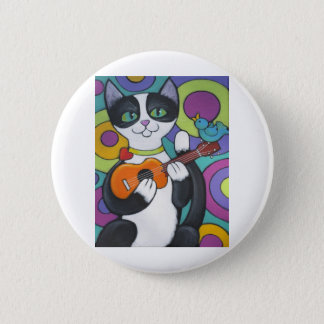 Ukulele Serenade 6 Cm Round Badge
