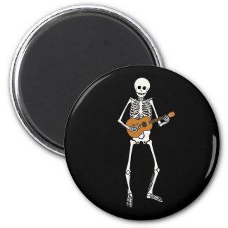 Ukulele Skeleton Magnet