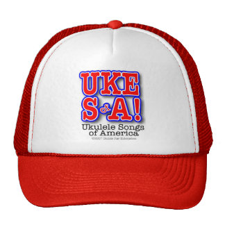 Ukulele Songs of America Cap Trucker Hat