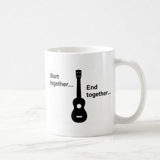Ukulele Start Together... Coffee Mug