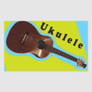 Ukulele Sticker 3: Display your love of the uku