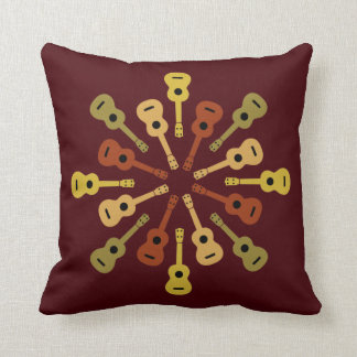 Ukulele throw pillow throw cushions